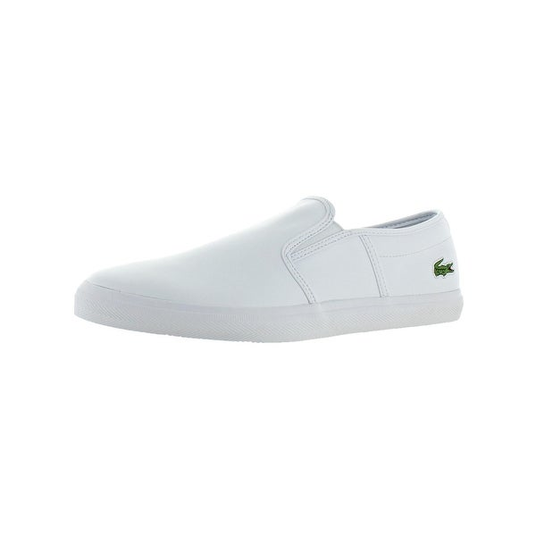 e847d186e801 Shop Lacoste Mens Tatalya Loafers Leather Slip-On - Free Shipping ...