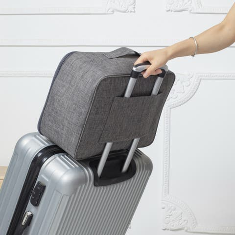 Large-Capacity Clothing Travel Bag With Trolley Case