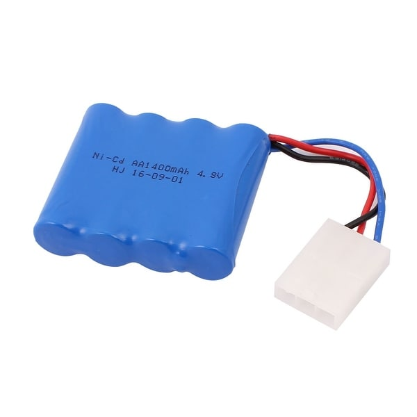 DC 4.8V 1400mAh Recycle Charging Ni-Cd Battery Pack for Electric Toys