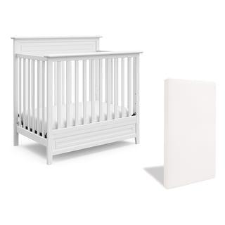Link to Storkcraft Petal 5-in-1 Convertible Mini Crib with Bonus Mattress - Water-Resistant Cover, JPMA Certified, 1-Year Warranty Similar Items in Kids' & Toddler Furniture