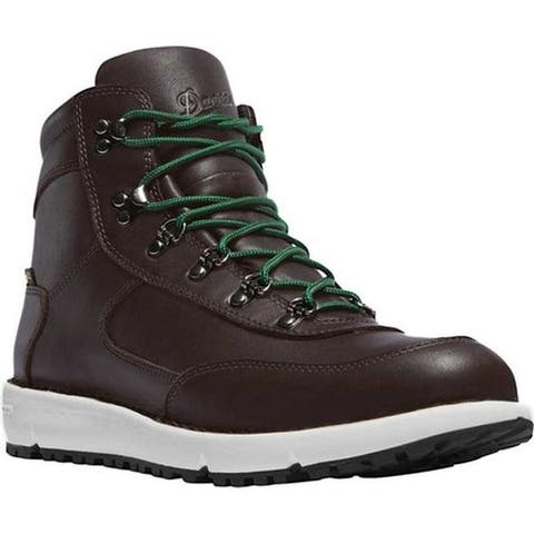 Danner Men's Feather Light 917 GORE-TEX Hiking Boot Dark Brown Full Grain Leather/Textile