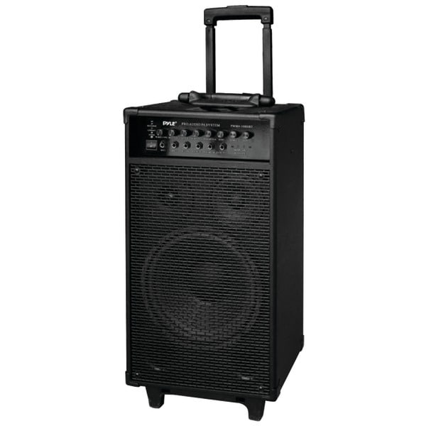 PYLE PRO PWMA1080IBT 800-Watt Portable Bluetooth(R) PA Speaker System
