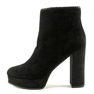 Marc Fisher Womens Natasia Suede Closed Toe Ankle Fashion Boots