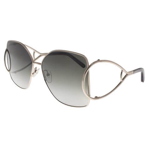 2c6c97fe5bb5 Chloe CE135 S 744 Light Gold Grey Butterfly Sunglasses - 63-15-
