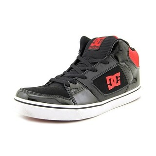 DC Shoes Patrol Men Round Toe Leather Red Skate Shoe