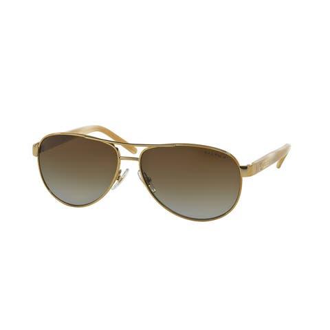 Ralph RA4004 101/T5 59 Gold/cream Woman Pilot Sunglasses