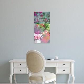Easy Art Prints Ricki Mountain's 'Pink Wonders I' Premium Canvas Art