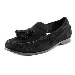 Cole Haan Pinch Grand Tassel Moc Toe Suede Loafer