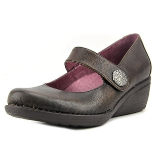 Dansko Adelle Women  Round Toe Leather Brown Mary Janes