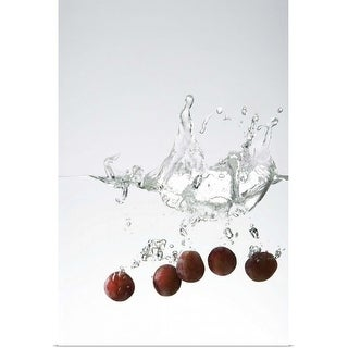 """Grapes in water"" Poster Print"