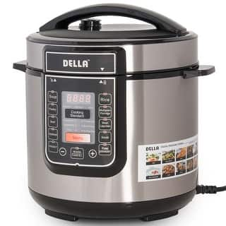 Della 8-in-1 Multi-Functional Programmable Pressure Cooker ETL UL CSA, 6 QT, 1000-WATT|https://ak1.ostkcdn.com/images/products/is/images/direct/a96c5fb14dc0b025efae96608cd222c735ad5b0f/Della-8-in-1-Multi-Functional-Programmable-Pressure-Cooker-ETL-UL-CSA%2C-6-QT%2C-1000-WATT.jpg?impolicy=medium