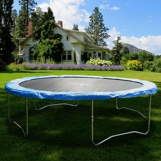 Link to Gymax Blue 14 FT Round Frame Trampoline Safety Pad Replacement Cover Similar Items in Outdoor Play