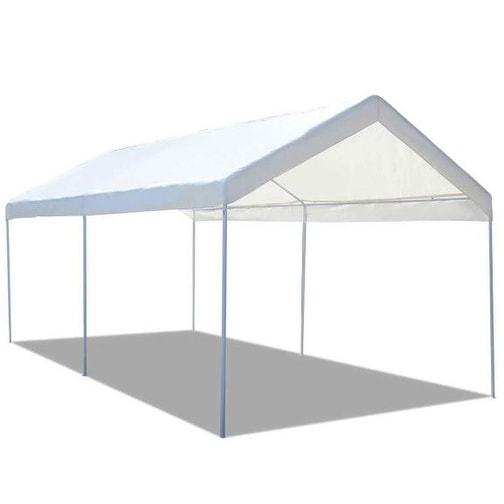 Shop Costway Steel Frame Party Tent Canopy Shelter Portable Car ...