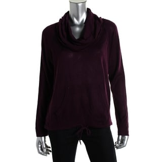 eric + lani Womens Pullover Top Knit Raglan Sleeves - s