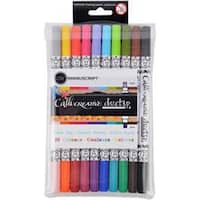 - Manuscript Callicreative Duo Tip Twin Color Pens 10/Pkg