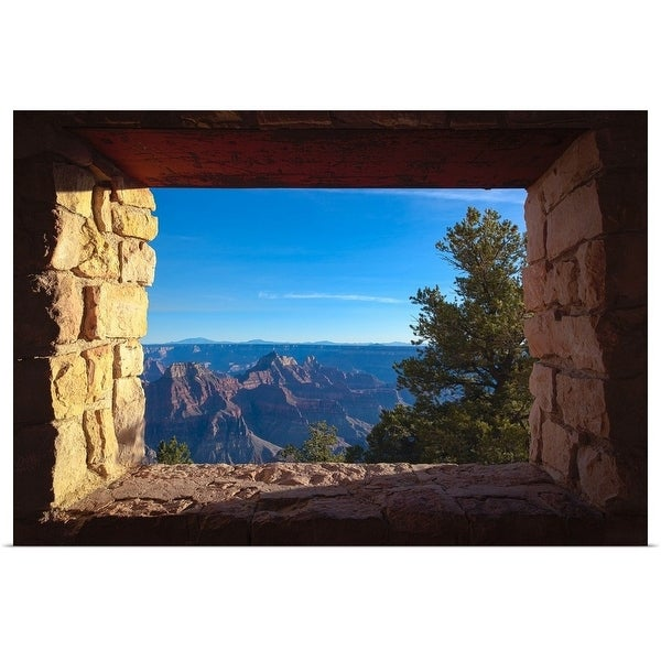 """""""Window to the North Rim"""" Poster Print"""
