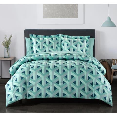 Keswick 11pc Reversible Comforter Set