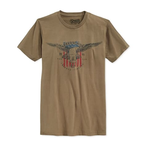 Retrofit Mens Special OPS Graphic T-Shirt, Green, Small