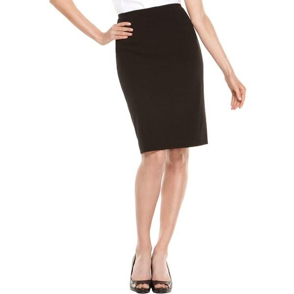 Calvin Klein Womens Pencil Skirt Lined Knee-Length