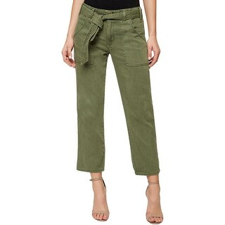 Sanctuary Womens Ankle Pants Solid Belted (3 options available)