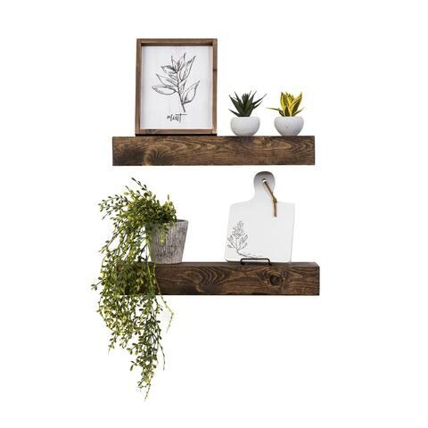 Artisan Haute Floating Shelves, Set of 2
