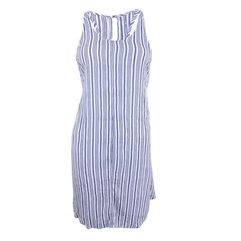 O'Neill Women's Tilly Striped Racerback Cover-Up (S, Mist) - Mist - S