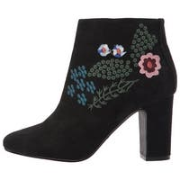 Nanette Lepore Womens Beverly Round Toe Ankle Fashion Boots Fashion Boots
