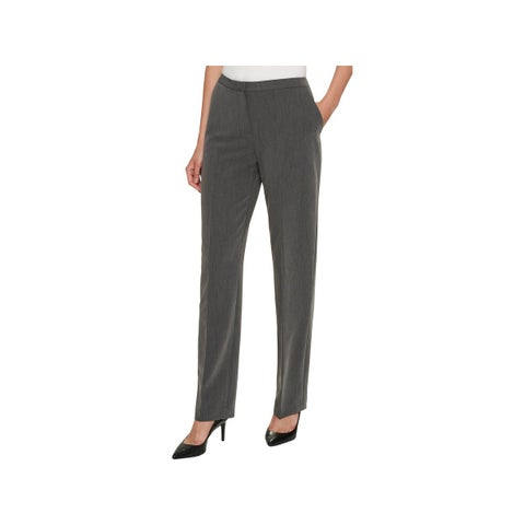 Tommy Hilfiger Womens Fairfield Straight Leg Pants Classic Wear to Work