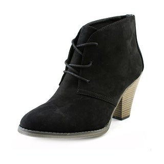 Mia Shawna   Round Toe Synthetic  Ankle Boot