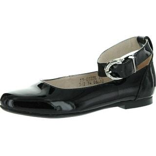 Venettini Girls 55-Gisel Elegant Dress Flats With Ankle Strap