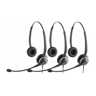 Jabra GN2125 Duo NC Headset W/ ATL Technology (3-Pack)