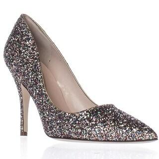 Kate Spade Licorice Pointed-Toe Dress Pumps - Multi Glitter