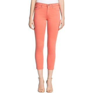Adriano Goldschmied Womens Prima Cigarette Pants Modal Blend Mid-Rise