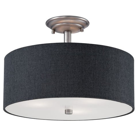 Millennium Lighting 3123 Jackson 3 Light Semi-Flush Ceiling Fixture