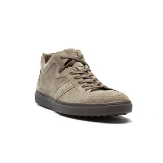 Tod's Men's Suede Polacco Sport Casseta Sneaker Shoes Brown