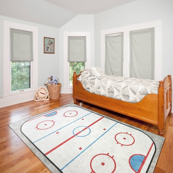 Dynamic Rugs Kidz Ivory/Multi Polyester Children's Area Rug. Opens flyout.