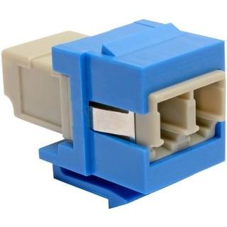 Tripp Lite N455 000 Bl Kj Duplex Multimode Fiber Coupler Keystone Jack Lc Lc Blue