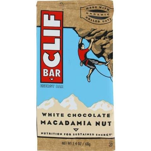 Clif Bar - White Chocolate Macadamia Nut Clif Bar ( 12 - 2.4 OZ)