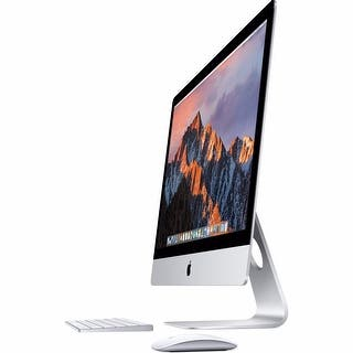 "Apple 27"" iMac with Retina 5K Display (Mid 2017) - Silver