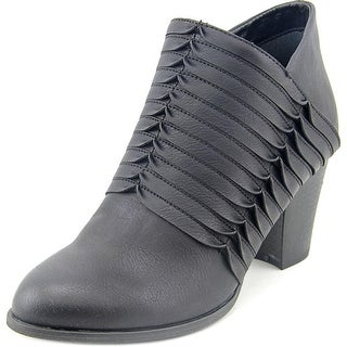 Fergalicious Calhoun Women  Round Toe Synthetic Black Ankle Boot