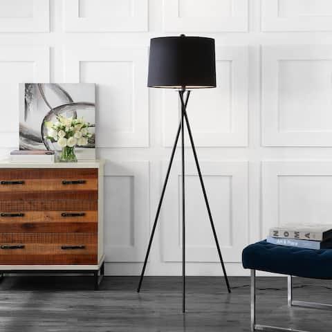 "SAFAVIEH Lighting Parsen Tripod 62-inch LED Floor Lamp - 22"" W x 22"" L x 61.5"" H"
