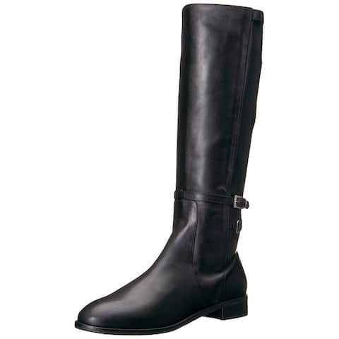 Charles David Womens Royce Leather Closed Toe Mid-Calf Fashion Boots