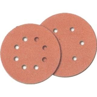"Norton 01637 6 Hole Hook & Loop Sand Disc, 6"", 120 Grit, 25/pk."