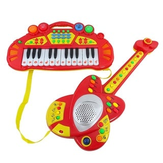 Envo Toys Piano And Guitar Toy Play Set Rock Band