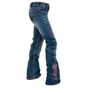 Cowgirl Tuff Western Denim Jeans Girls Dreamer Medium Wash