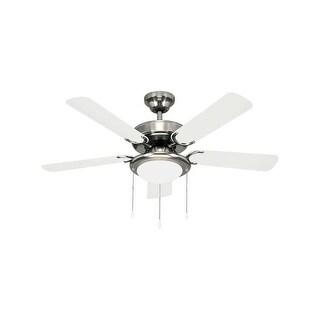 Canarm CF9042551S Eclipse Single Light 5 Blade Hanging Ceiling Fan