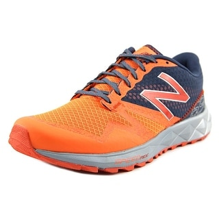 New Balance MT690 Men Round Toe Synthetic Orange Running Shoe