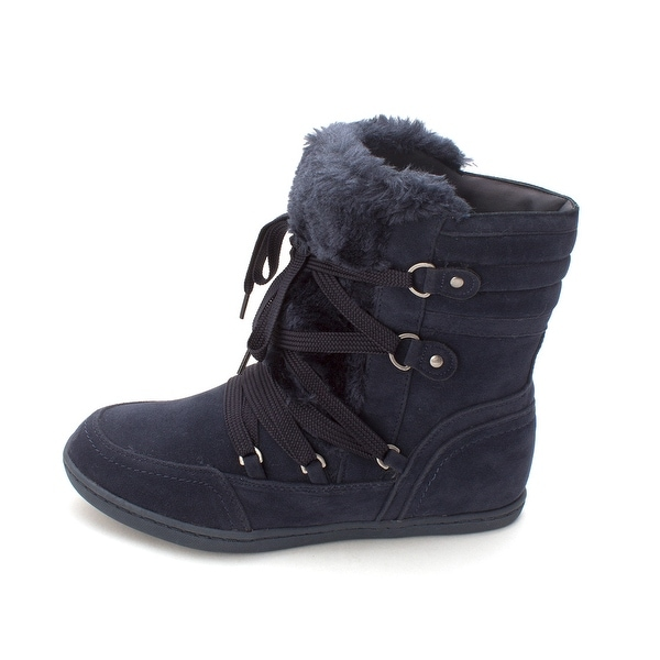 G by Guess Womens Ryla Closed Toe Ankle Cold Weather Boots