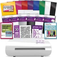 Gemini Jr Junior Crafter's Companion Die Cut Machine Bundle Vinyl Transfer Paper