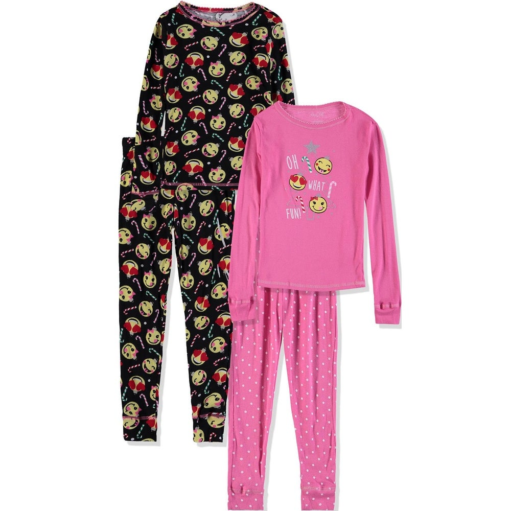 NEW Carter/'s Girls 3 Piece Holiday Mrs Santa Claus Red PJs 4 7 8 10 12 14 Year